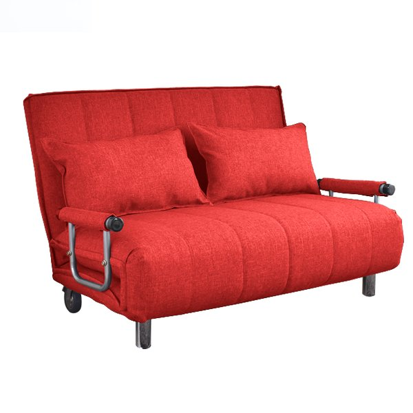 ソファ ソファベッド 洗えるソファー幅120cmキャスター付き セミダブル カバーリング  安いコンパクトソファー2人掛け 折りたたみ おしゃれ 開梱設置無料|with-sofa|20