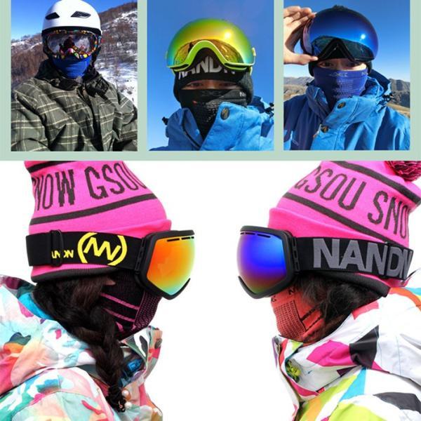 防寒 ネックウォーマー マスク フェイスマスク フェイスガード 冬用 防風 アウトドア スポーツ バイク 自転車 登山 トレッキング スノーボード スキー|withbambistore|05