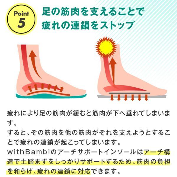 インソール アーチサポート 偏平足 土踏まず 衝撃吸収 反発 立体 3D 中敷き 疲れにくい 立ち仕事 スニーカー スポーツ o脚 ランニング靴 メンズ レディース|withbambistore|10