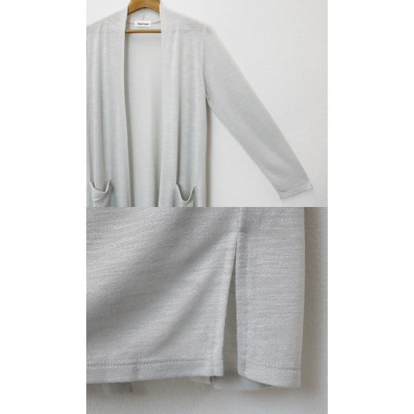 スラブロングトッパーカーディガン レディース 薄手 羽織り UV対策 全6色 M・L|withyou17|10