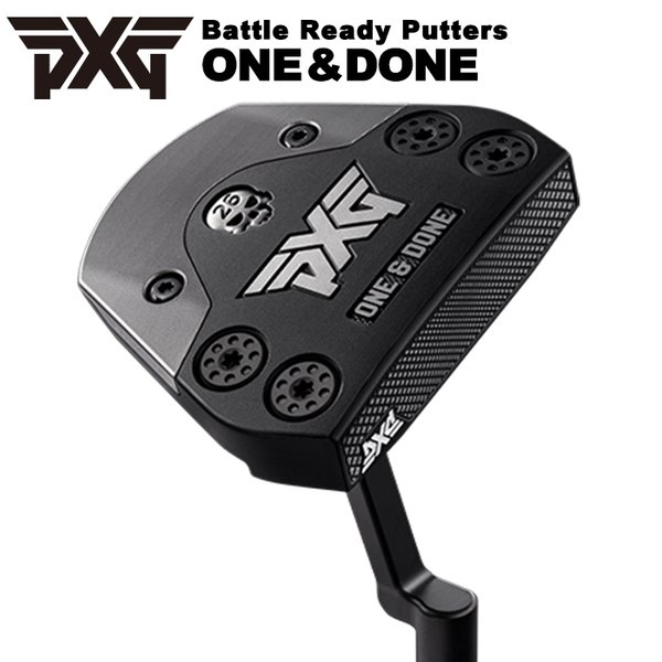PXGBattleReadyPuttersバトルレディーパターOne&Doneワンアンドダン