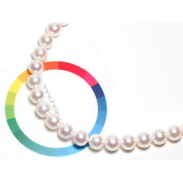 パールネックレス アコヤ真珠7-7.5mmネックレス留め金具込52cmSV|wizem|04