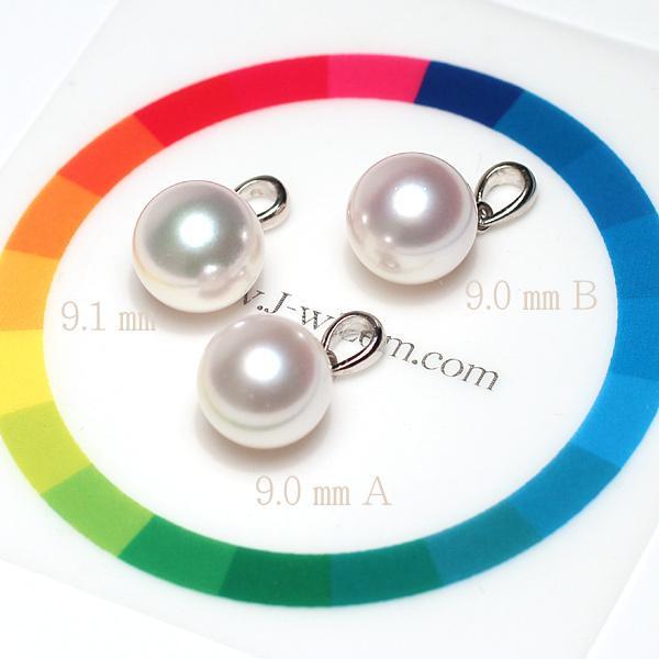 定番プラチナ枠パールペンダントあこや真珠9.0mm長さが変えられるプラチナネックレス45cm付誕生石6月日本製ギフトラッピング|wizem|05