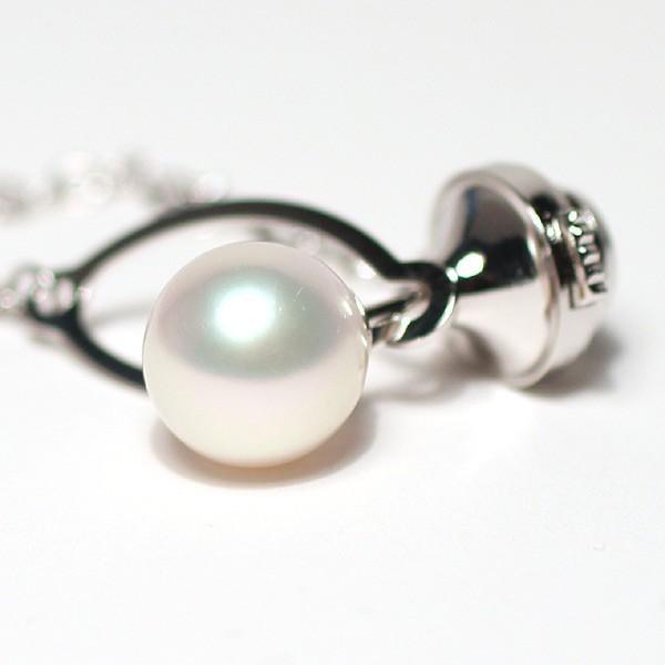 アコヤ真珠8.9mmタイタック プラチナ製pt900タック針 冠婚葬祭ギフトラッピング|wizem|02