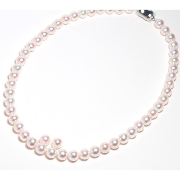パールネックレス あこや真珠8-8.5mm SVクラスプ 8.3mmイヤリング2点セット冠婚葬祭|wizem|02