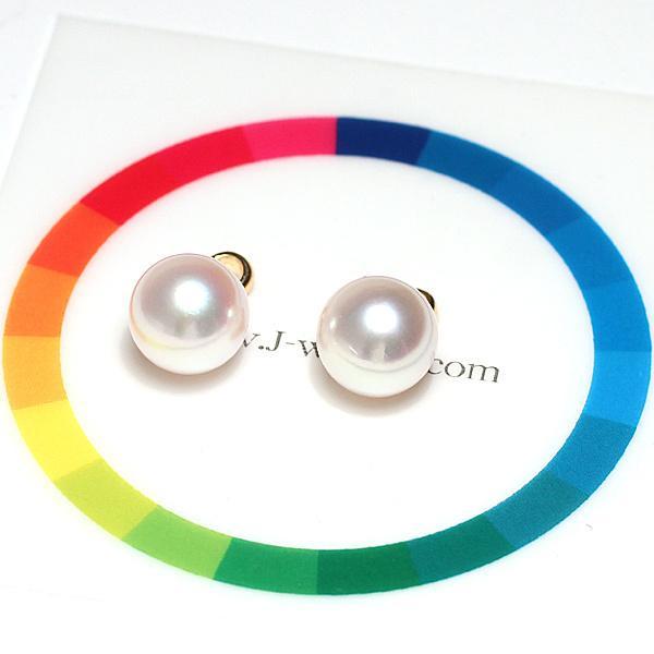 定番シンプルK18パールペンダントトップ アコヤ真珠直径8.7mm〜8.8mmイエローゴールド|wizem|05