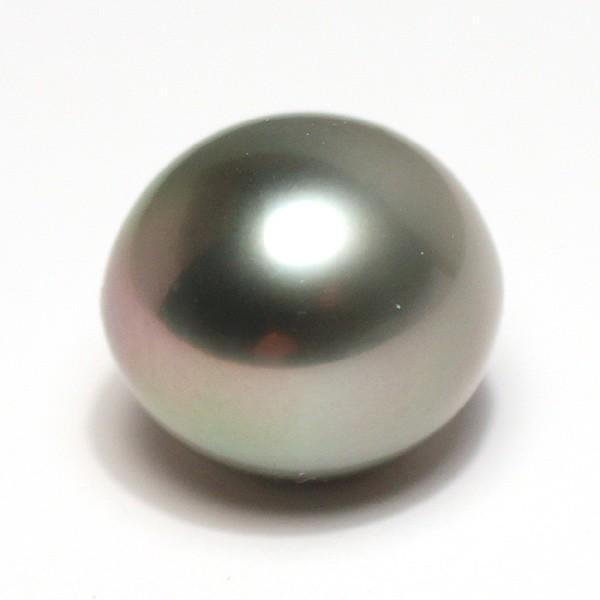 黒蝶真珠幅12mm×縦13mmパールルース珠のみ片穴あきペンダント用にお勧め|wizem|02