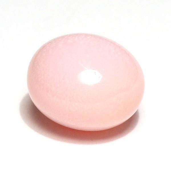 コンクパールルース5.982ct 約10.4mmx9.7mmx7.6mm 鑑別書付属中央宝研うすピンク色 全体に火炎模様みられ素晴らしい wizem 08