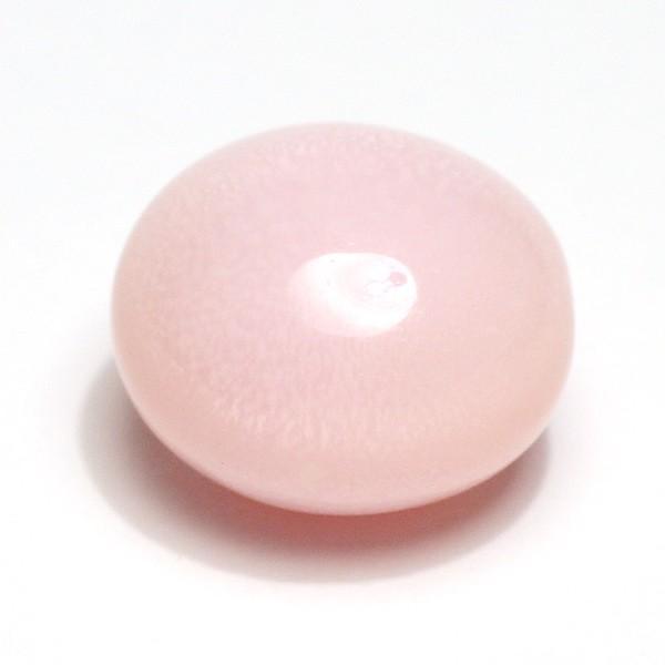 コンクパールルース5.982ct 約10.4mmx9.7mmx7.6mm 鑑別書付属中央宝研うすピンク色 全体に火炎模様みられ素晴らしい wizem 09