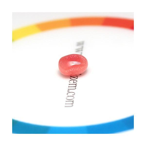 コンクパールルース0.85ct火炎模様きれい6.6mm×4.6mmバロック形オレンジがかったピンク系色|wizem|04