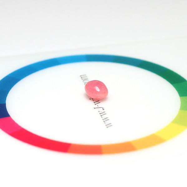 コンクパールルース0.88ct 6.0×4.9mm×4.2mm火炎模様ピンク色|wizem|06