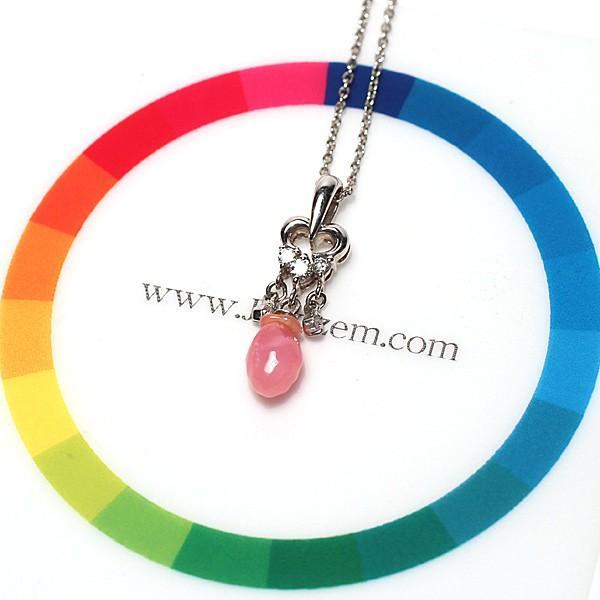天然真珠ならではのバロック形コンクパール0.84ctプラチナダイヤペンダント 火炎模様 縦約20.5mm×5.7mm|wizem|07