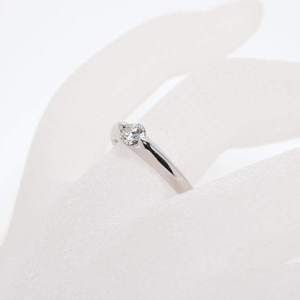 ダイヤモンドリングPT900プラチナ製0.28ctサイズ11|wizem|05