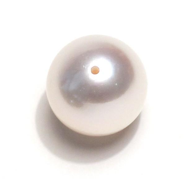 指輪用真珠ルース 花珠真珠10.1mmリング用珠のみ片穴あきオーロラ花珠鑑別書付|wizem|03
