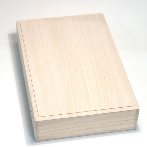 パールネックレス用桐ケース 桐箱は自然の湿度調整機能があり良いケース真珠ネックレスの保管用桐箱|wizem