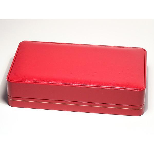 ネックレスケース/ネックレスとイヤリングやピアスをセット18cm×10.5cm×厚み4.2cm赤色|wizem|02