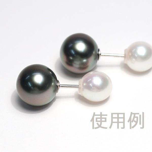 あこや真珠7mmのピアスキャッチ1セット/送料270円ポスト投函対応 wizem 04