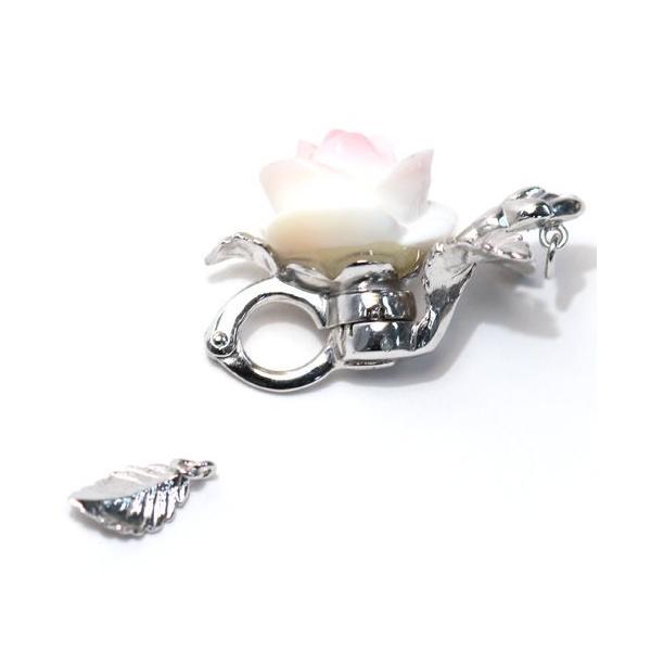 マグピタSV 真珠ネックレス用 コンクシェルバラ形|wizem|02