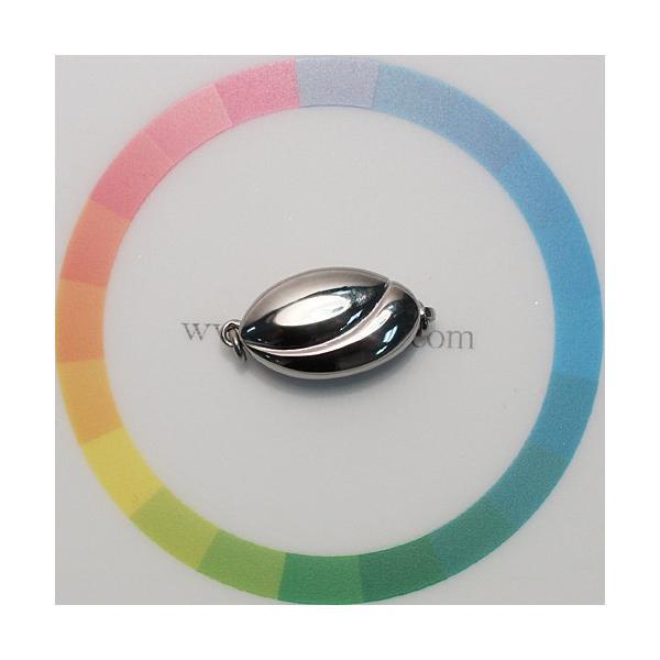 チタン製ワンタッチクラスプMサイズ 日本製 パールネックレス用片面 選べる配送方法360円対応商品|wizem|04