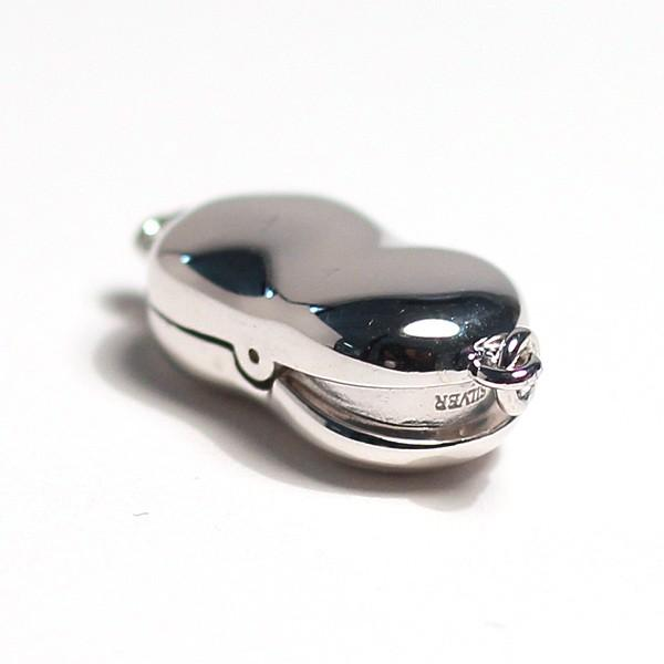 両面リバーシブルSILVERクラスプMサイズ 7mm前後のパールネックレス用留め金具/選べる配送方法360円対応商品 wizem 02