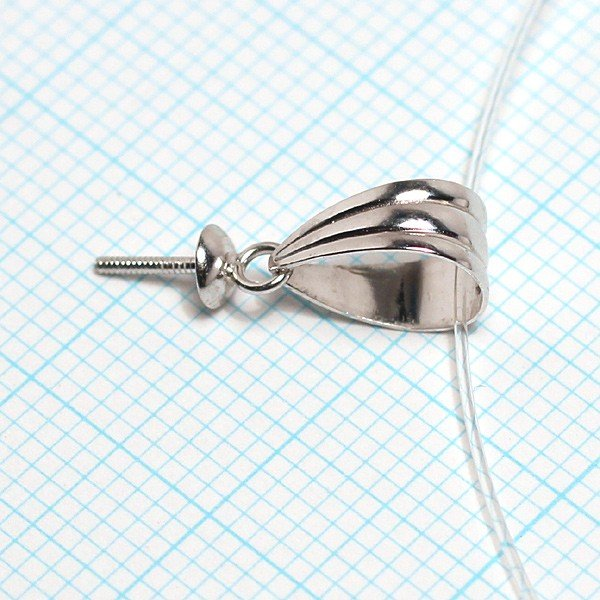 ペンダント金具パール用K14WG製バチカンシンプル大きい3.5mm皿つきさし付き 配送方法360円選べる対応商品|wizem|02