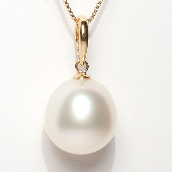 白蝶真珠パールルース1珠幅12.7mm縦13.5mm片穴開き|wizem