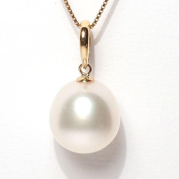 白蝶真珠パールルース1珠幅12.7mm縦13.5mm片穴開き|wizem|02