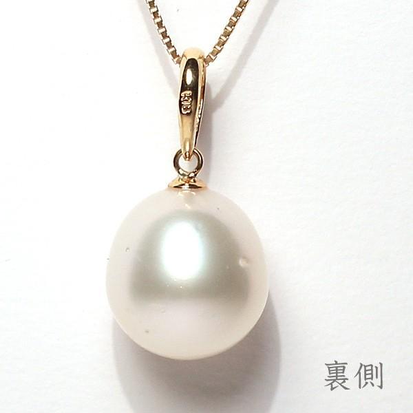 白蝶真珠パールルース1珠幅12.7mm縦13.5mm片穴開き|wizem|04