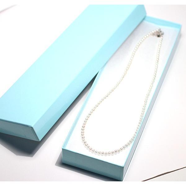 淡水パールネックレスアジャスター付長さ43.5cm〜48.5cm長さ調整可ポテト形バロック形約3.5mm|wizem|04