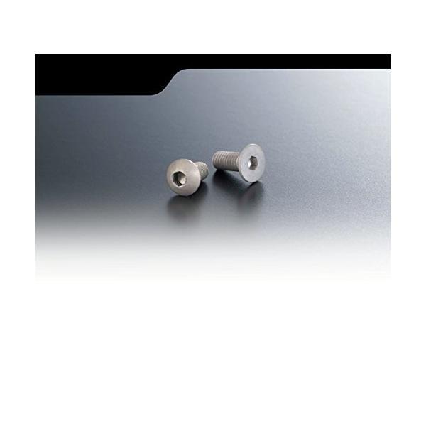 AXON マット アルミニウム スクリュー ボタン 3×6 10p NA-B3-062|wkwkintl