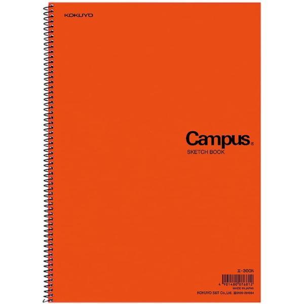コクヨ キャンパス スケッチブック A4 一般・学用 厚口22枚 エ-300N|wkwkintl|03