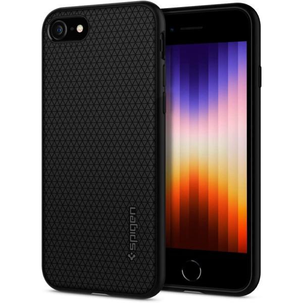 スマホケース Spigen シュピゲン iPhone 8 / 7 リキッドエアー ブラック 042CS20511|wlo