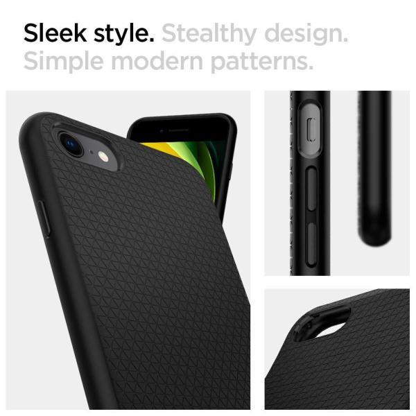 スマホケース Spigen シュピゲン iPhone 8 / 7 リキッドエアー ブラック 042CS20511|wlo|03