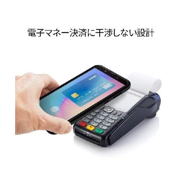 スマホケース Spigen AQUOS sense2 / Android One S5  リキッド エアー S25CS25531 マット ブラック|wlo|04