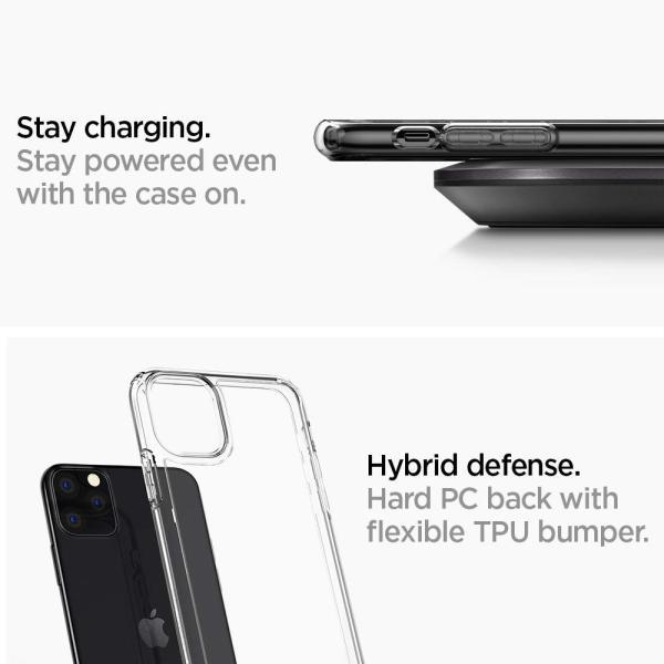 スマホケース Spigen iPhone 11 Pro 5.8インチ ウルトラ ハイブリッド 077CS27233  クリスタル クリア|wlo|06
