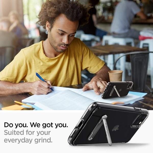 スマホケース Spigen iPhone 11 Pro 5.8インチ スタンド付  ウルトラ ハイブリッド S 077CS27443 クリスタル クリア|wlo|02