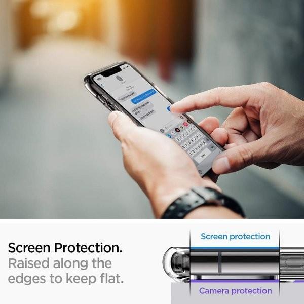 スマホケース Spigen iPhone 11 Pro 5.8インチ スタンド付  ウルトラ ハイブリッド S 077CS27443 クリスタル クリア|wlo|03