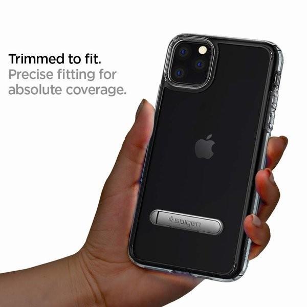 スマホケース Spigen iPhone 11 Pro 5.8インチ スタンド付  ウルトラ ハイブリッド S 077CS27443 クリスタル クリア|wlo|05