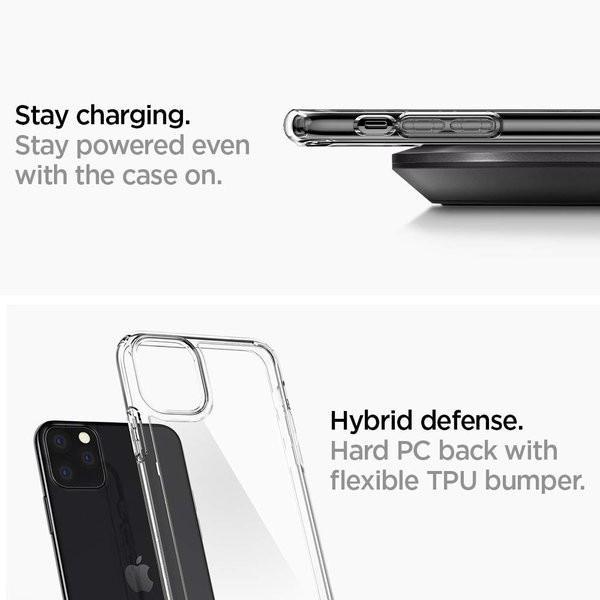 スマホケース Spigen iPhone 11 Pro 5.8インチ スタンド付  ウルトラ ハイブリッド S 077CS27443 クリスタル クリア|wlo|06