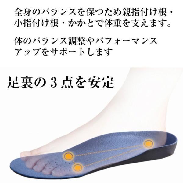 インソール アーチサポート 2足セット 偏平足 土踏まず 衝撃吸収 立体 3D 中敷き 疲れにくい スポーツ 靴 メンズ レディース