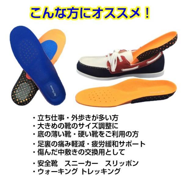タイムセール インソール 衝撃吸収 メンズ レディース 立体構造 靴の中敷き 安全靴 ワークブーツ 送料無料|wls|02