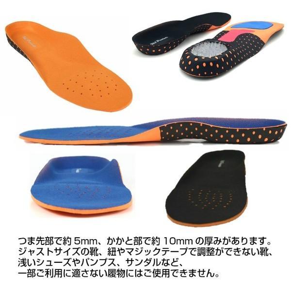 タイムセール インソール 衝撃吸収 メンズ レディース 立体構造 靴の中敷き 安全靴 ワークブーツ 送料無料|wls|04