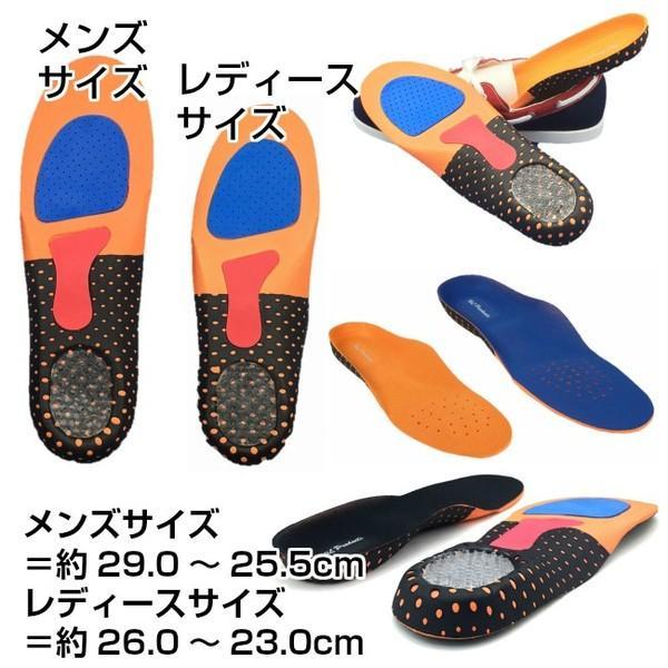 タイムセール インソール 衝撃吸収 メンズ レディース 立体構造 靴の中敷き 安全靴 ワークブーツ 送料無料|wls|06