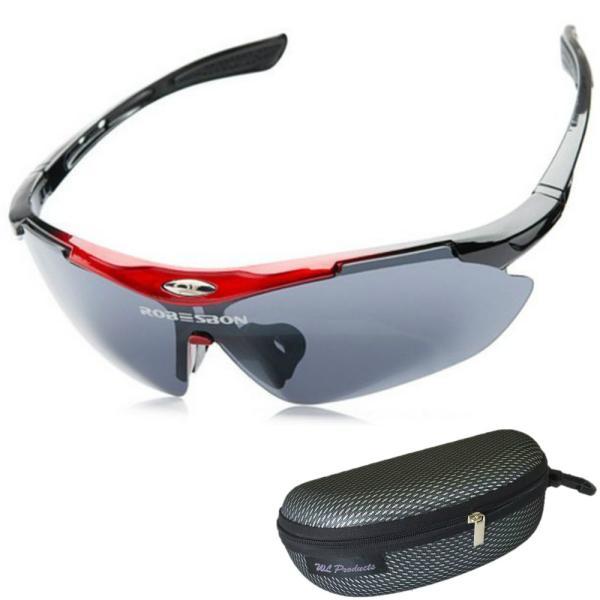 スポーツサングラス 偏光 レンズ アウトドア ゴルフ 野球 ランニング 収納ケース付 送料無料|wls|07