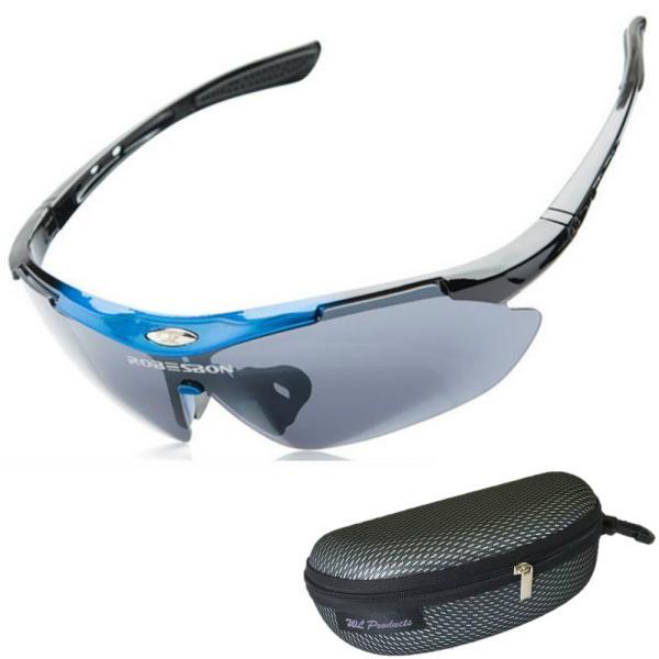 スポーツサングラス 偏光 レンズ アウトドア ゴルフ 野球 ランニング 収納ケース付 送料無料|wls|08