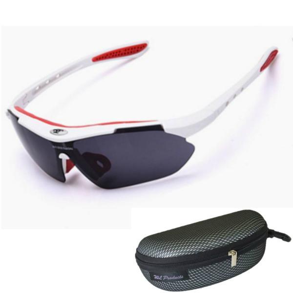 スポーツサングラス 偏光 レンズ アウトドア ゴルフ 野球 ランニング 収納ケース付 送料無料|wls|09