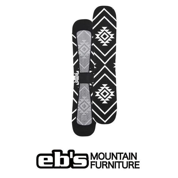 20 ebs エビス ソールカバー KNIT COVER:NATIVE - BLACK 国内正規品