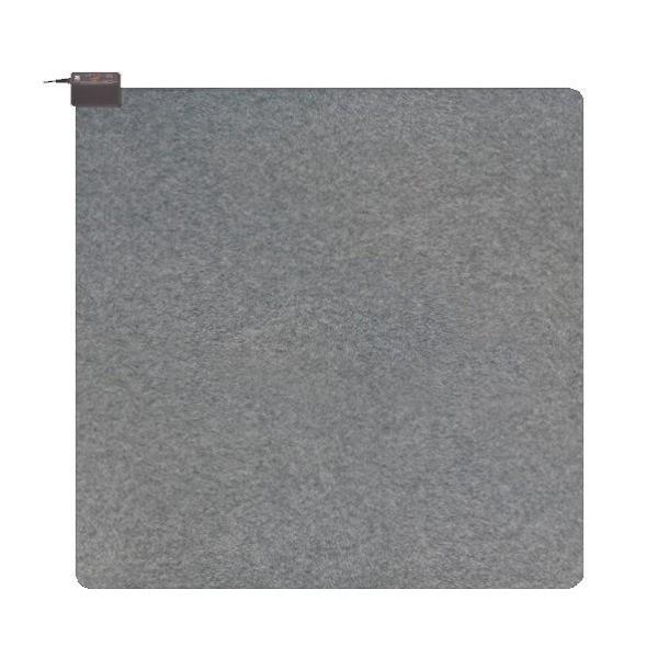 電磁波カット ホットカーペット/電気カーペット 〔2畳用カバー付〕 ダニ対策 切り忘れ防止タイマー 暖房面切替 1/2電力運転機能
