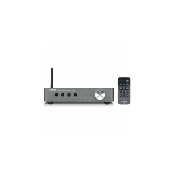 YAMAHA 〔ハイレゾ音源対応〕 ワイヤレスストリーミングプリアンプ ダークシルバー WXC50SD