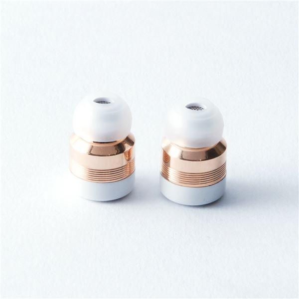 Beat-in] 超小型・完全ワイヤレスイヤホン Beat-in Stick ローズゴールド
